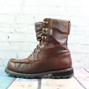 LL BEAN Kangaroo Leather Upland Boots Size 9.5